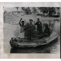 1960 Press Photo Ngoun river country civil war troop - RRX80275