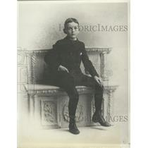 1894 Press Photo Senator Arthur H. Vandenberg at Age of 10 - mjx48726