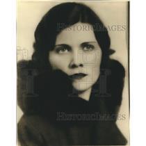 1935 Press Photo Mrs. Grace Wolfe Gonzales - nox23125