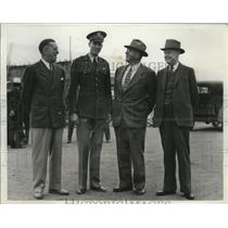 1940 Press Photo Distinguished Guests at the opening of Army Air Training Field