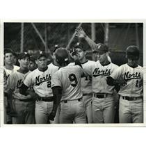 1992 Press Photo Waukesha North High School - Erik Morrell, Baseball Team