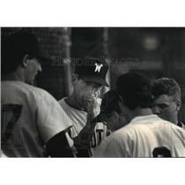 1991 Press Photo Waukesha South High School - Fritz Richter, Baseball Coach