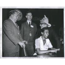 1959 Press Photo Charlotte Martin, Lawrence Sutter and Robert Smerch