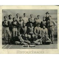 1895 Press Photo South Division High School Football Team