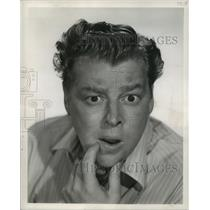 1950 Press Photo Frank Fontaine, Actor/Comedian