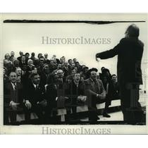 1969 Press Photo All Star cast sing for National Urban Coalition Coalition