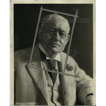 1924 Press Photo Gen. Washington's closest living relative Col. John C. Lewis