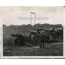 1939 Press Photo United States Army demonstrates Military weapons at Aberdeen