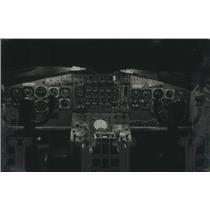1964 Press Photo Instrument panel of National Airlines jetliner
