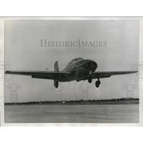 1955 Press Photo The plane called Saeta in its experimental flight