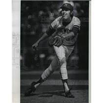 1974 Press Photo Milwaukee Brewers - Billy Champion, Pitcher - mjt02002