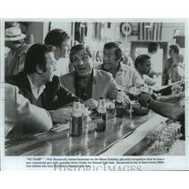 1980 Press Photo Ex-Dolphins football player, Nick Buoniconti, in new commercial