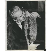 1930 Press Photo Henry Marchand NY Heniette Sculptor Meet