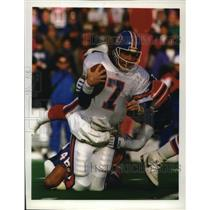 1992 Press Photo Denver Broncos - John Elway, Football Player - mjt01984