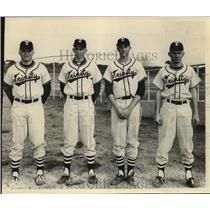 1966 Press Photo A quartet of Trinity University baseball players - sas14489