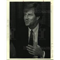 1983 Press Photo San Antonio Spurs coach Morris McHone - sas14149