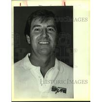 1983 Press Photo San Antonio Spurs coach Morris McHone - sas14150
