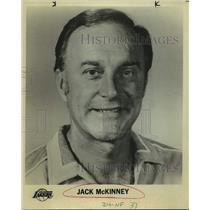 Press Photo Los Angeles Lakers basketball coach Jack McKinney - sas14127