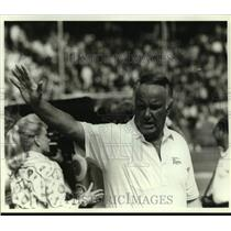 Press Photo Los Angeles Rams football coach John Robinson - sas14461
