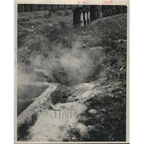 1953 Press Photo Pollution in Houston, TX. - hcx14430