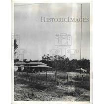 1942 Press Photo Exterior view of the Wireless Radio Station in Darwin Australia