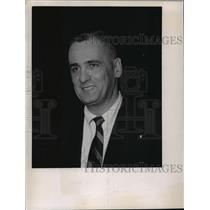 1968 Press Photo Beloit basketball coach, Bernie Barkin - mjt02578