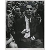 1968 Press Photo Beloit basketball coach, Bernie Barkin - mjt02592