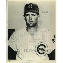 Press Photo Chicago Cubs baseball player Archie Reynolds - sas15235