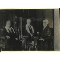 1935 Press Photo portrait of Mrs. J. Roosevelt, mother of the president