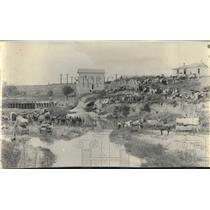 1897 Press Photo Scene of the Baptism in Kansas - lrx02499