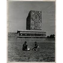 1960 Press Photo students at University of Mexico - RRX70623