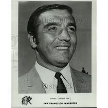 1970 Press Photo San Francisco Warriors basketball coach, George Lee - mjt04172