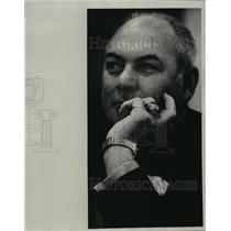 1974 Press Photo Former Green Bay Packers football player, Tony Canadeo
