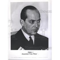 1947 Press Photo Paul King Hellenes Greece Prussia - RRX87577