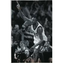 1995 Press Photo Vin Baker, one of Bucks basketball's more productive players