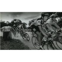 1993 Press Photo Bicycle Racers during the Fresca International Cycling Classic