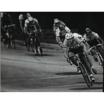 1994 Press Photo Bicycle racers in action during the Fresca Cycling Classic