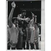1978 Press Photo Milwaukee's basketball coach, Joe Buneta of Pius High School