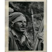 1962 Press Photo Mahmoud Kawani Rezanok bridge Partisan - RRX35681