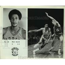 Press Photo Golden State Warriors basketball player Phil Smith - sas15649