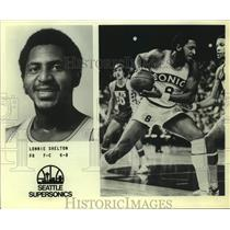 Press Photo Seattle SuperSonics basketball player Lonnie Shelton - sas15860