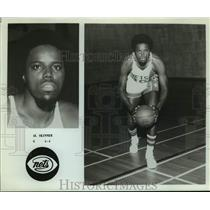 Press Photo New Jersey Nets basketball player Al Skinner - sas15919