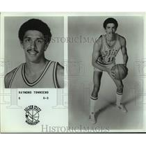 Press Photo Golden State Warriors basketball player Raymond Townsend - sas15987