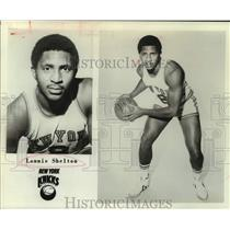 1979 Press Photo New York Knicks basketball player Lonnie Shelton - sas15613
