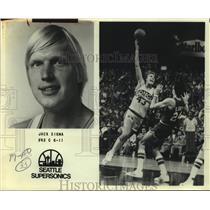1982 Press Photo Seattle SuperSonics basketball player Jack Sikma - sas15580