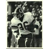 1988 Press Photo Washington Redskins football running back Timmy Smith