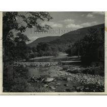 1927 Press Photo Schoharie Creek, New York forecast 1927. - tua12281