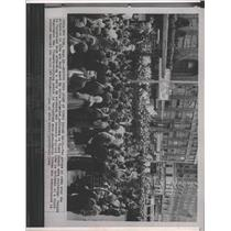 1963 Press Photo Cuba Demonstrations In Times Square - RRX90131