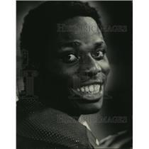 1971 Press Photo John Brockington, running back for the Green Bay Packers.