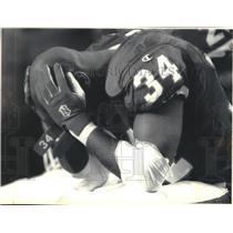 1994 Press Photo Buffalo Bills running back Thurman Thomas during Super Bowl
